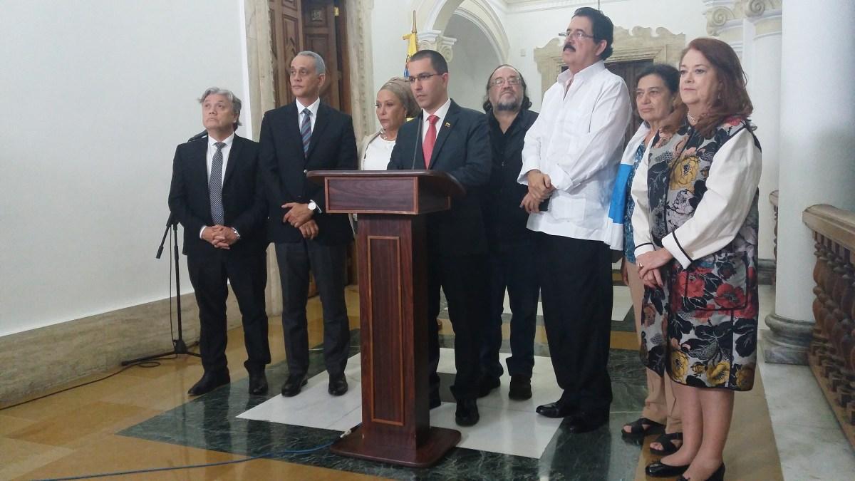 Declaración de Respaldo Internacional a la legitimidad de las elecciones en Venezuela.