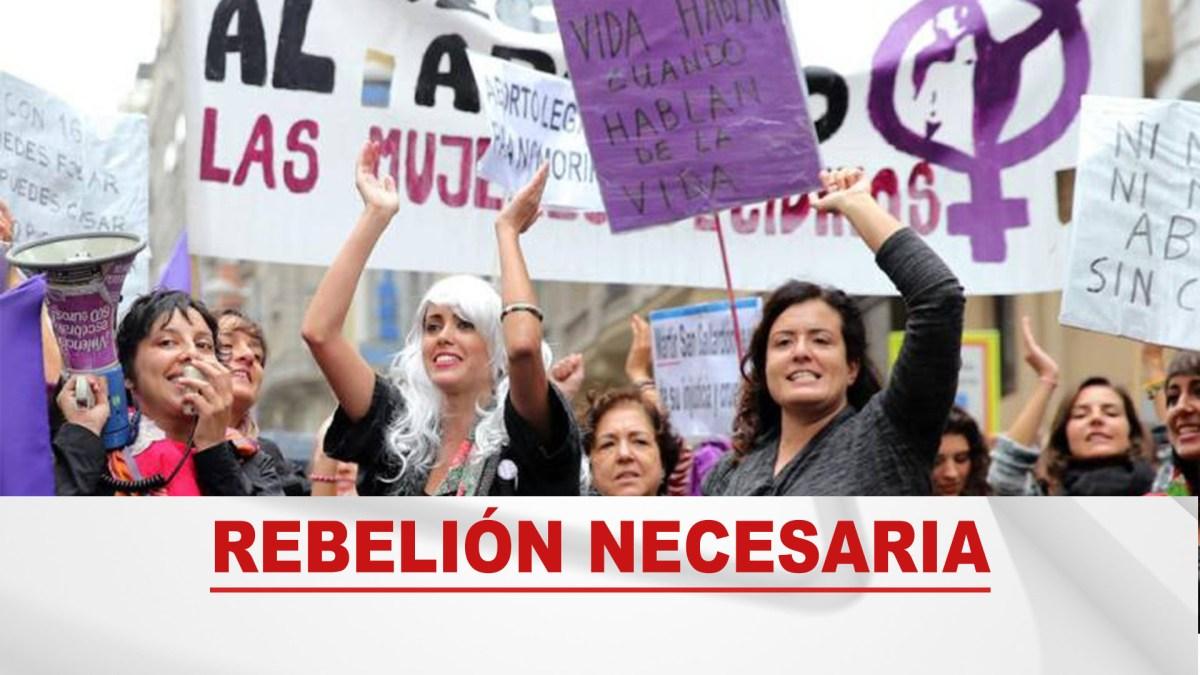 Chile - NO + AFP Saluda a la rebelión feminista