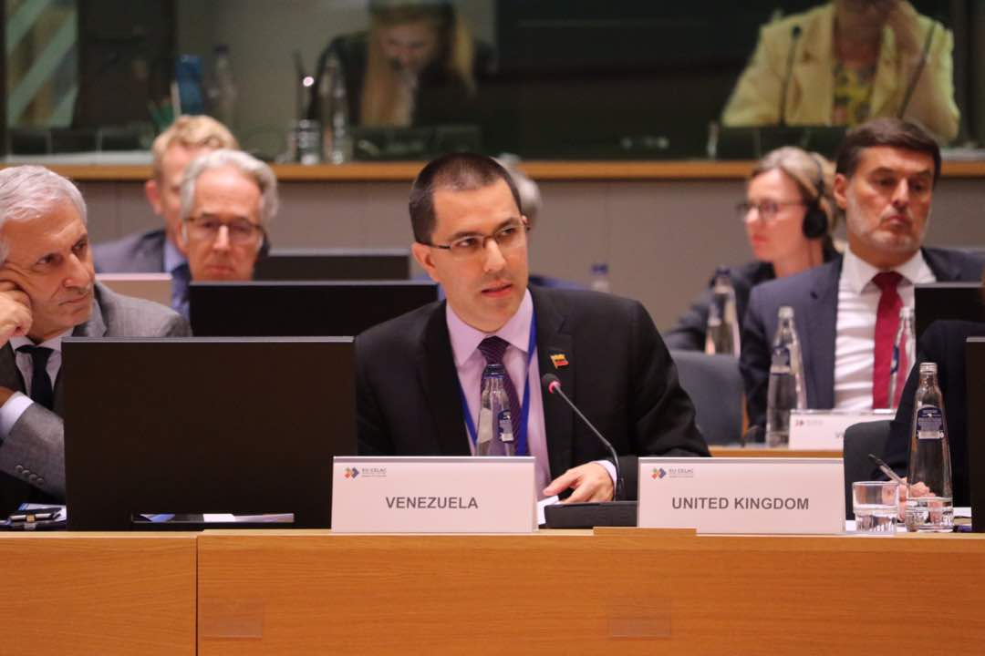 "Jorge Arreaza en CELAC-UE: ""Fortalecer el multilateralismo para enfrentar cerco imperial."""