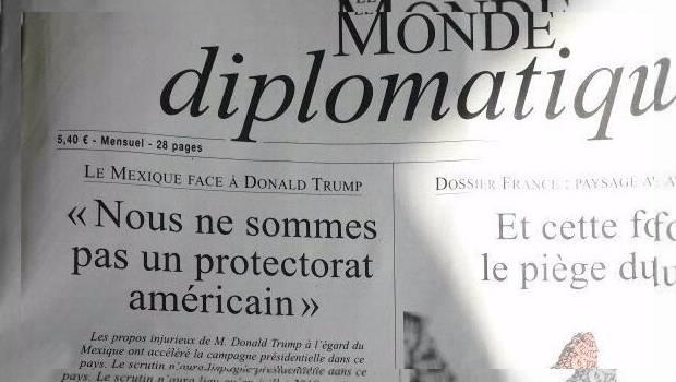 """Artículo de Andrés Manuel López Obrador (AMLO) en Le Monde Diplomatique """"México no es un protectorado estadounidense"""""""