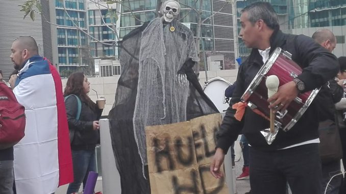 Chile - Trabajadores/as de HDI Seguros entran en su tercera semana de huelga