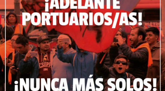 Chile - SE INICIA TERCERA SEMANA DE HUELGA EN VALPARAÍSO