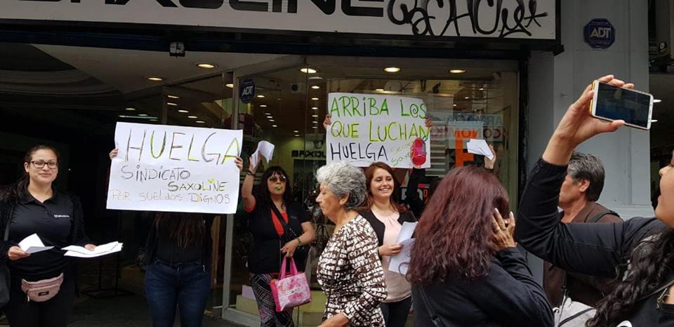 Chile: Trabajadores de Saxoline en huelga por mejores condiciones laborales
