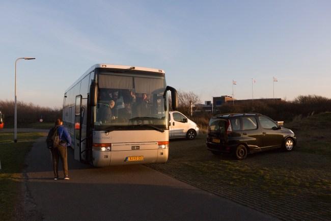 Bus naar Ecomare