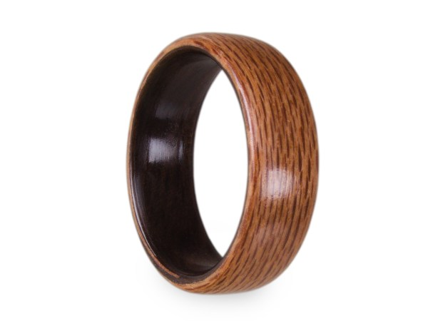 Holzring aus Rewarewa und Räuchereukalyptus