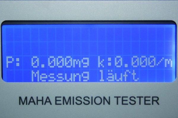 MAHA MET 6.2 AU-Messgerät Diesel