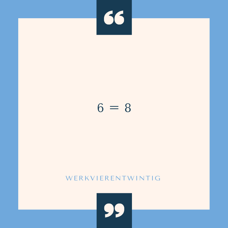 6=8 filosofie