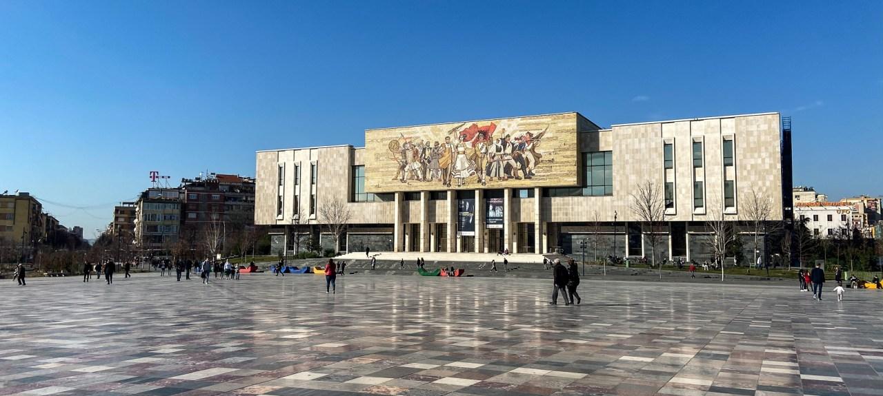 Haupstadt Tirana - Albanien