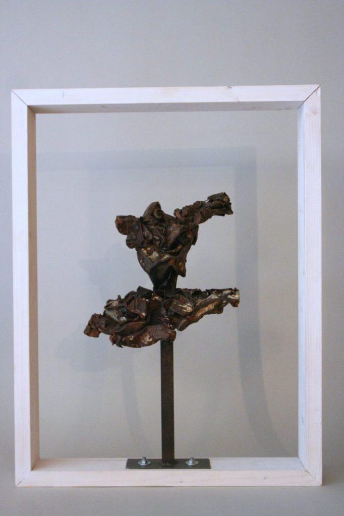 Sculpture de Guillaume Werle, Grand tutu en acier et bois