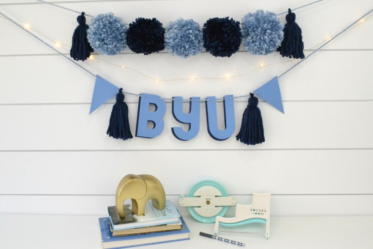 DIY Dorm Room Decor by Aly Dosdall for We R Memory Keepers