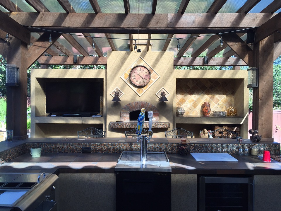 out door kitchen modern clocks for design tips your outdoor werner construction north banner