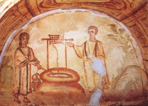 CHRIST with THE WOMAN AT THE WELL