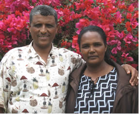 Key leaders Negash & Bekelech Gemeda of Addis Ababa, Ethiopia