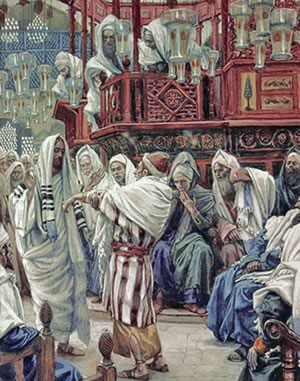 Christ healing the withered hand by James Tissot, a classic honor-shame confrontation
