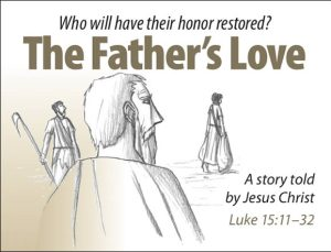 The Father's Love Gospel Booklet, the gospel in the language of honor and shame