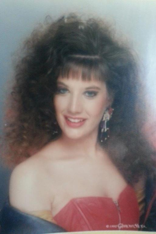 Christine, Spencer's Mother in the 80's!