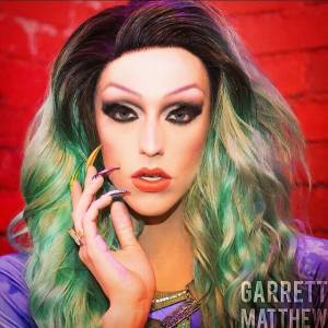 Laganja Estranja RuPauls Drag Race Season 6 rpdr painted by Asia Persuasia green hair
