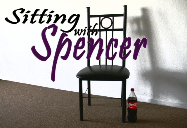 sitting with spencer