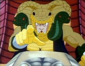 GI JOE serpentor