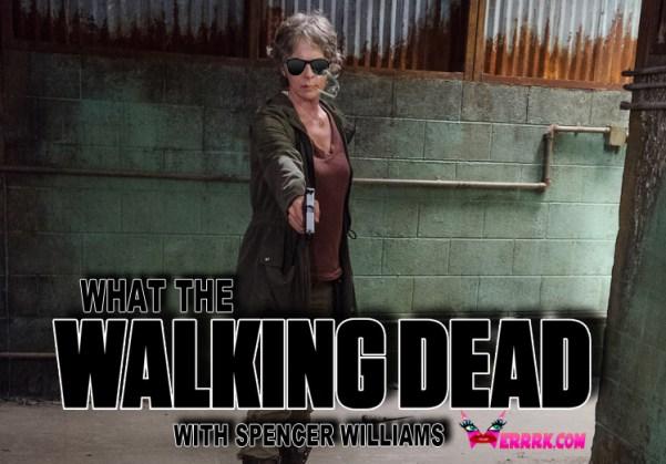 Melissa McBride as Carol Peletier - The Walking Dead _ Season 6, Episode 13 - Photo Credit: Gene Page/AMC