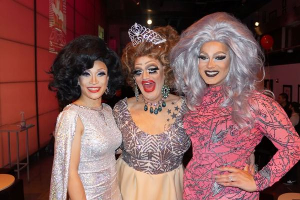Juicy Liu, Vicky Boofont and Alexis Michelle