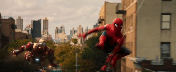 """Spidey and Iron Man just saw the """"HOT"""" light come on at Krispy Kreme"""