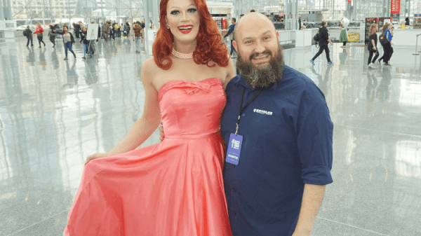 TIM PEARSON INTERVIEW: WERRRK.com's COVERAGE OF RUPAUL'S DRAGCON NYC  2018 76