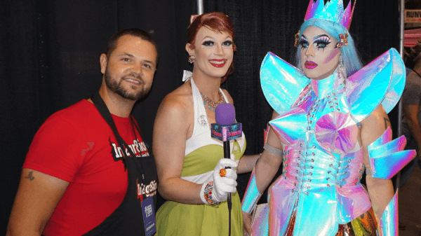 SABRINA LAURENCE &  IN2GR8ION WIGS INTERVIEW: WERRRK.com's COVERAGE OF RUPAUL'S DRAGCON NYC  2018 88