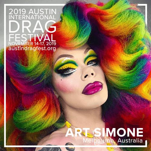 Austin International Drag Festival Headliner Announcement: Art Simone 74