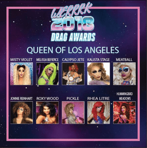 The WERRRK.com 2018 (-ish) Drag Awards Nominees (VOTING ENDS MAY 20th!) 13