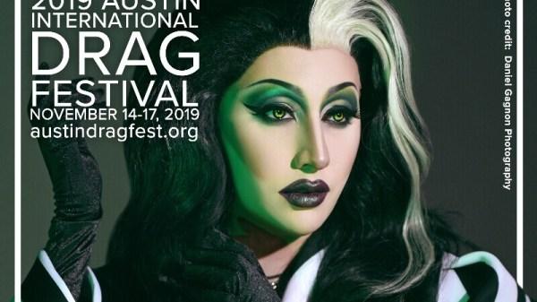 Austin International Drag Festival Headliner Announcement: Complete Destruction 89