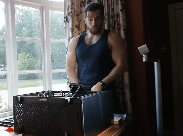 Henry Cavill Assembled A Computer On Instagram And We Have Questions 75