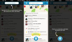 Foursquare 6.0 - Screenshots by We are Social Media