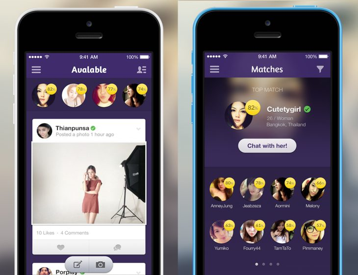 Avalable dating app