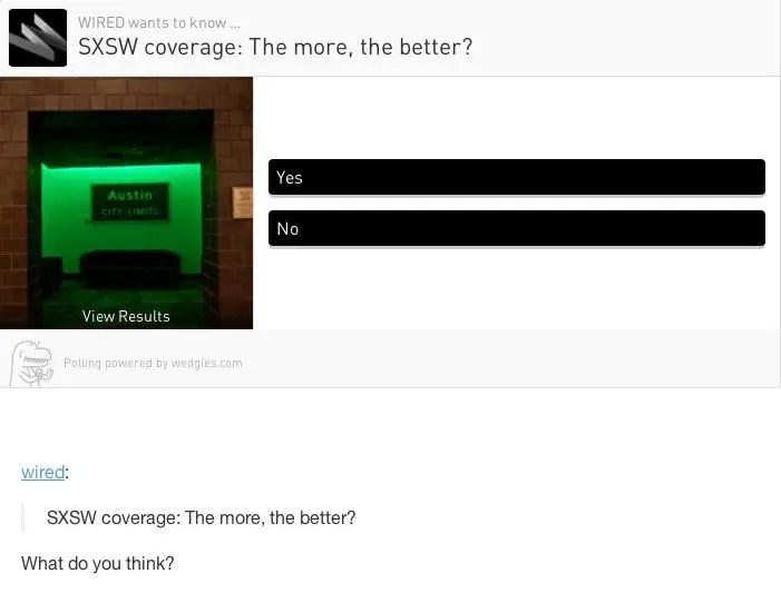 wedgies poll 2