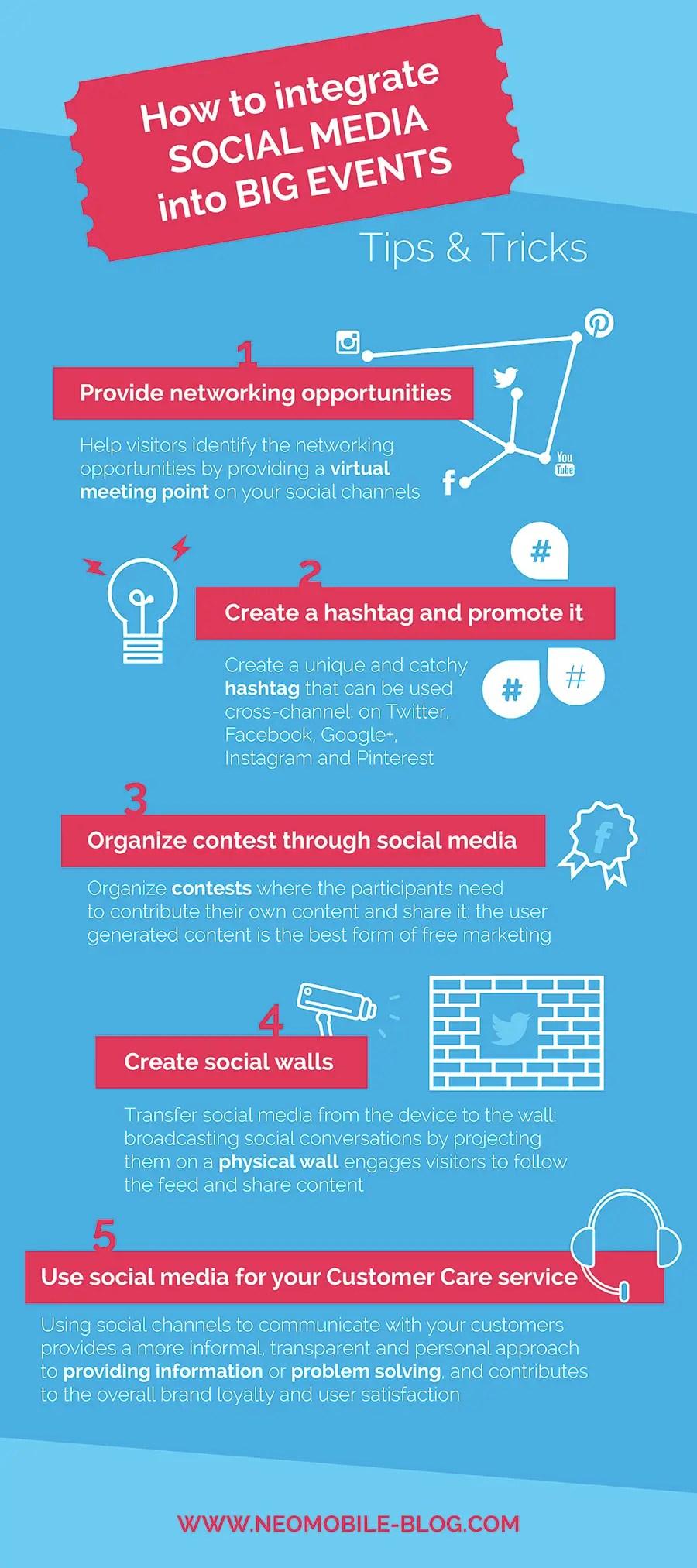 5 ideas to integrate social media into big events • experts talk