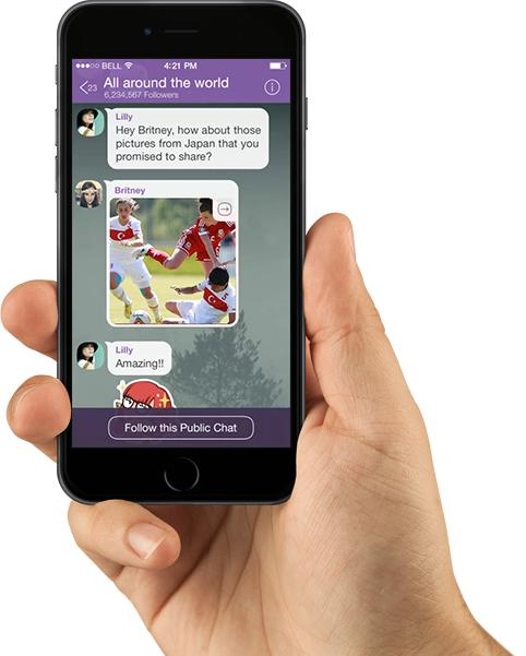 Be The First To Know With Viber Public Chats • Other