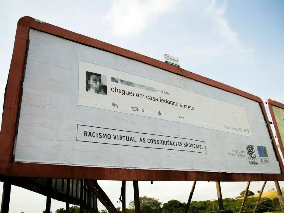 wersm criola brasil online racism banner 1