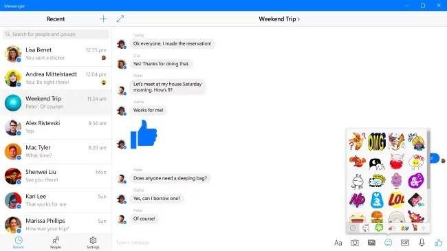 MessengerWindows10