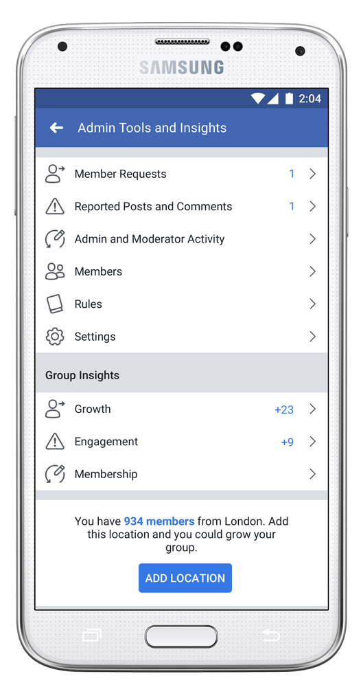 Facebook Announces New Tools For Group Admins And Members