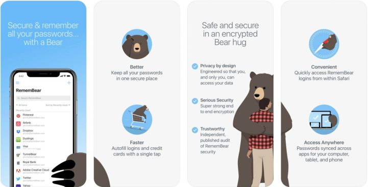 RememBear: Password Managerz