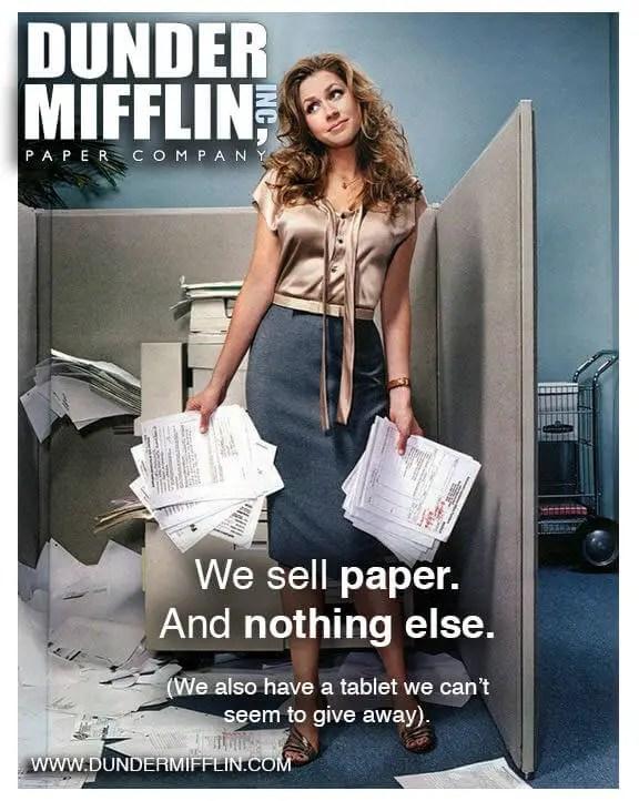 wersm-dunder-mifflin-poster-ads-pam beasly