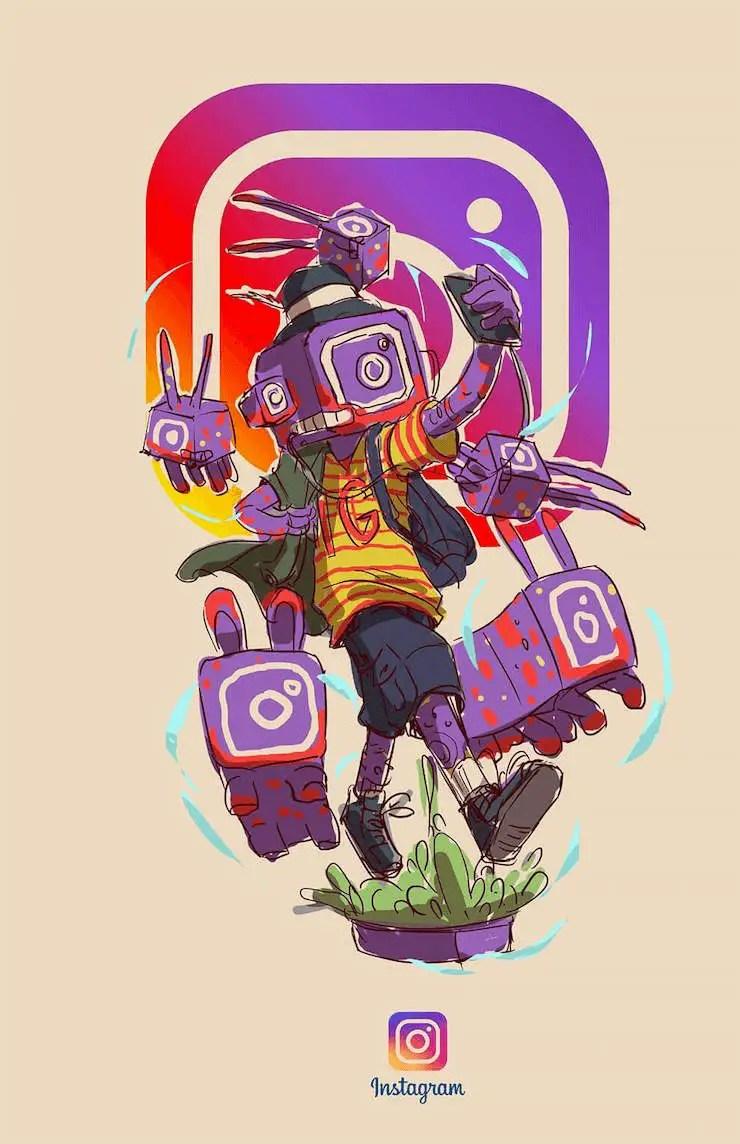 wersm-social-media-humanoid-instagram