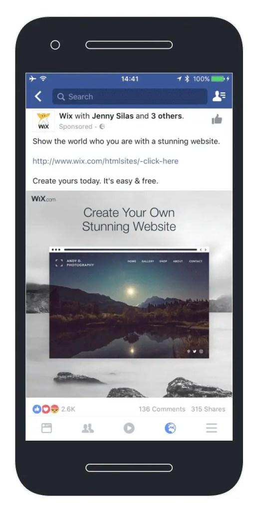 wersm-designing-effective-facebook-ads-creative-wix
