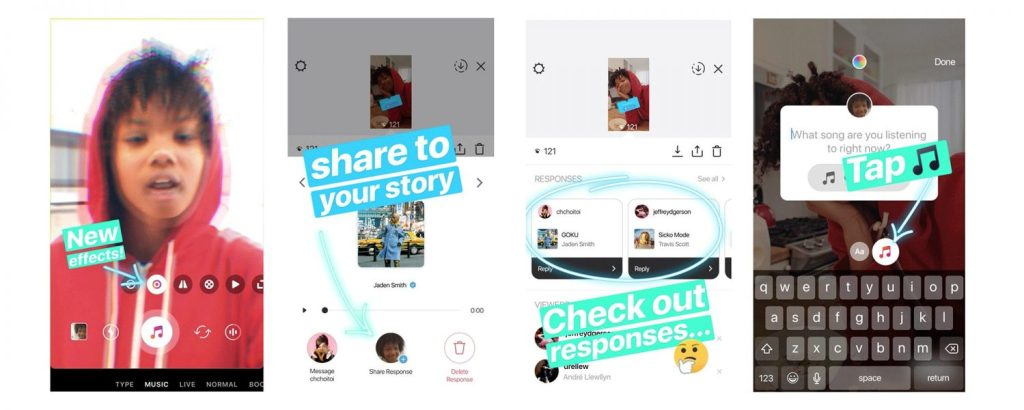 Instagram Further Integrates Music Sharing Into Stories
