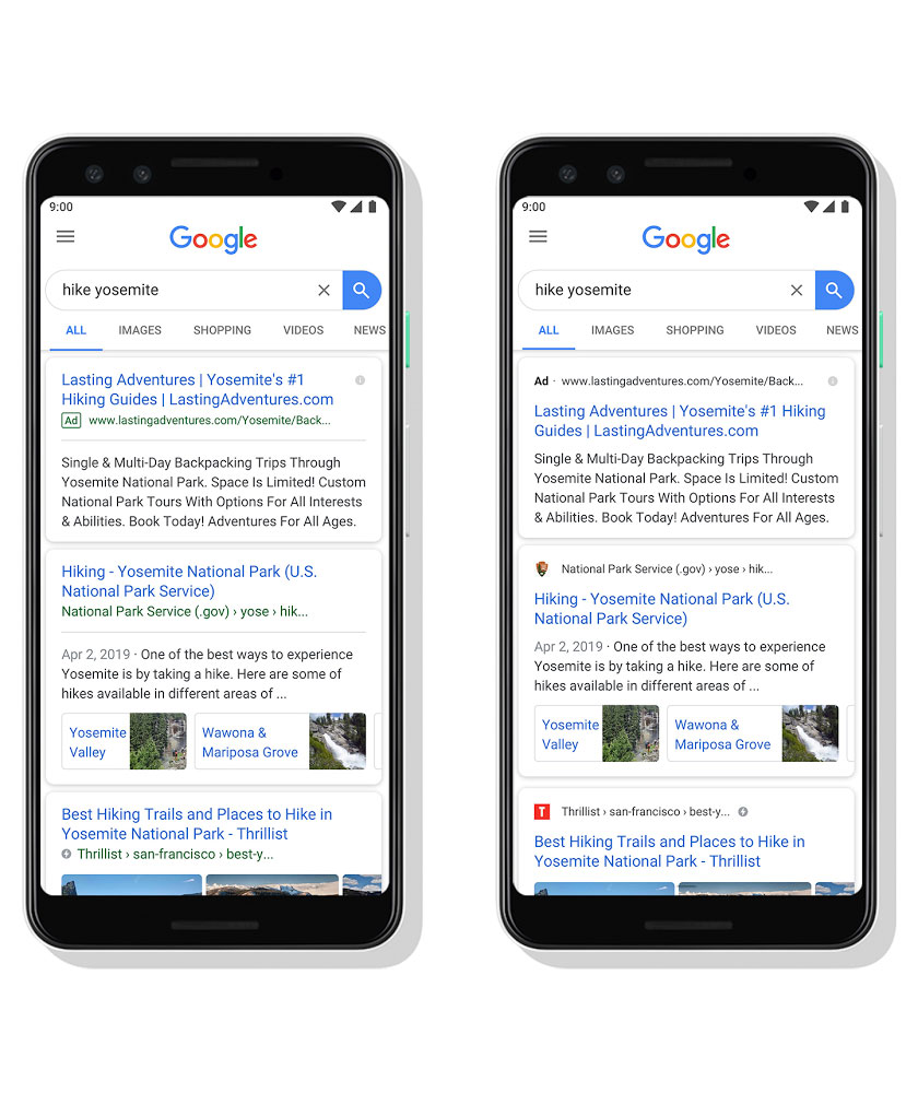 Google Gives Its Mobile Search Results Page A