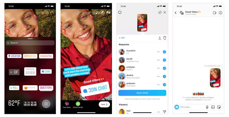 Instagram Adds New Join Chat Sticker to Its Stories Feature