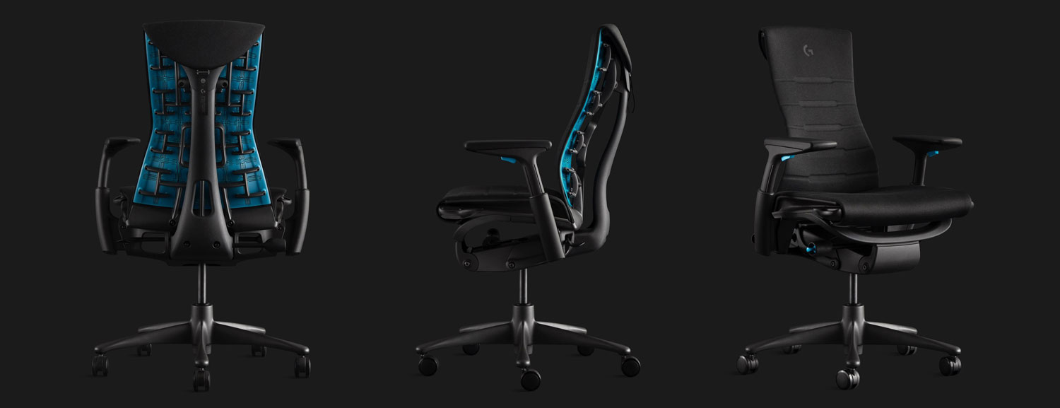 Herman Miller And Logitech G Announce The Embody Gaming Chair