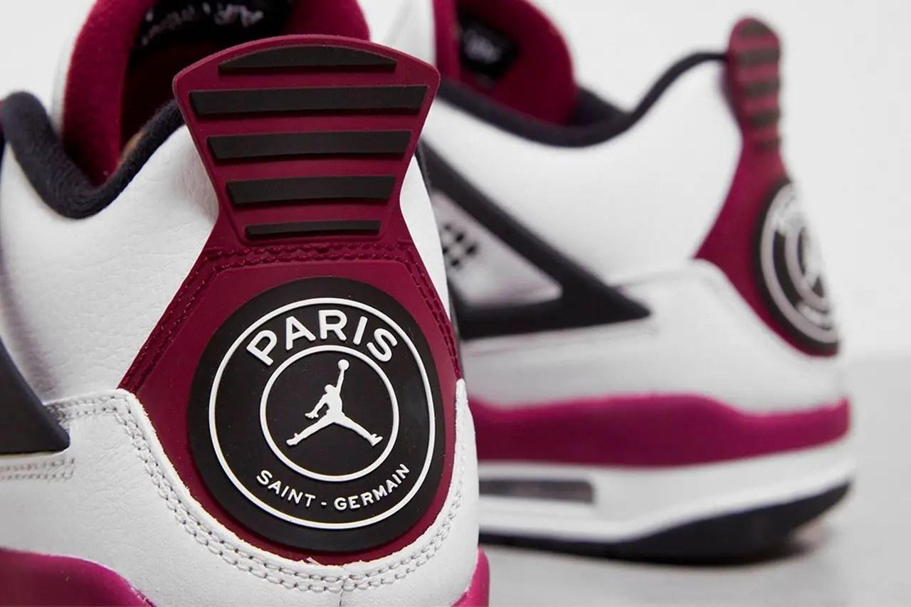the new paris saint germain air jordan 4