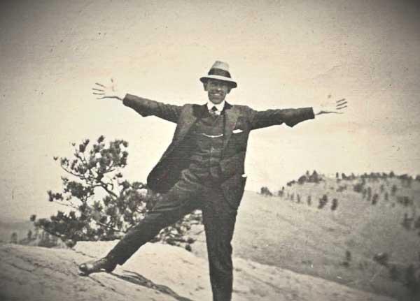 William H. at the Black Hills